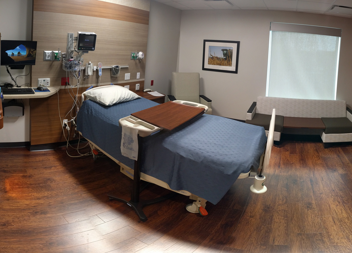 One of our fine Urgent Care rooms