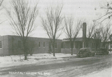 Historic photo of Sakakawea Medical Center